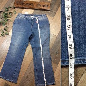 Womens Blue Jeans Size 18W Curvy Boot Cut